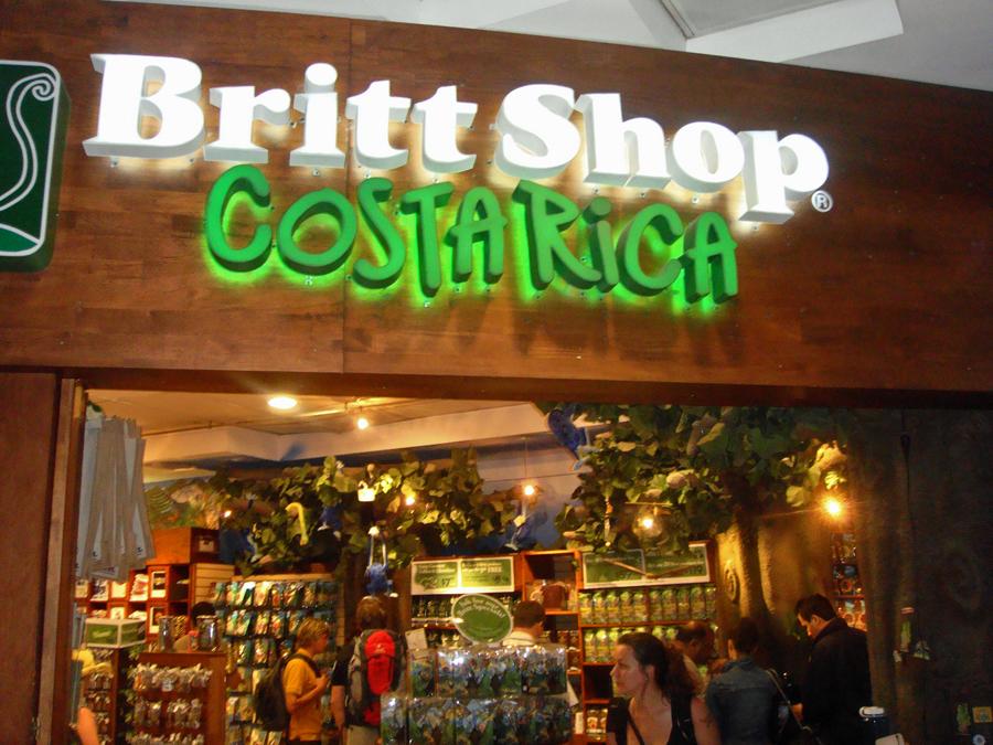 Cafe Britt Store, SJO, Costa Rica